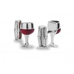 Cufflinks Red Wine