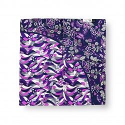 Scarf Lilac Flowers