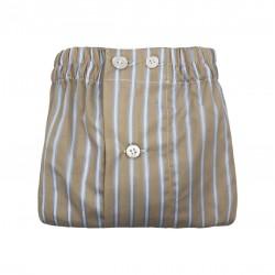 Stripes Boxer - Beige&Azur