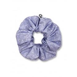 Scrunchie - Foglie Azzurro