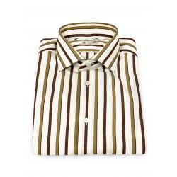 Camicia Burgundy Stripes -...