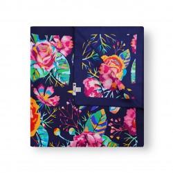 Flowers - Dark Blue