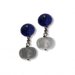 Quartz & Stone - Blue&White