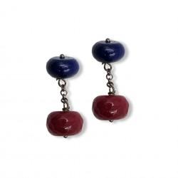 Quartz & Stone - Blue&Red