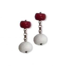 Quartz & Stone - Red&White
