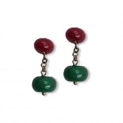 Quartz & Stone - Red&Green