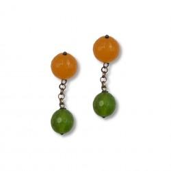 Quartz & Stone - Green&Orange