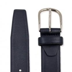 Blue Calfskin Belt