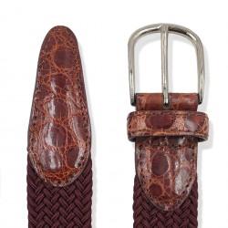 Elastic & Crocodile Skin -...