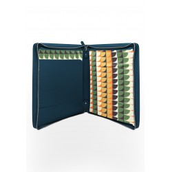 Leather laptop case – Peacock