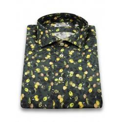 Camicia Limoni su Sfondo...