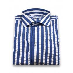 Camicia Strisce Azzurre -...